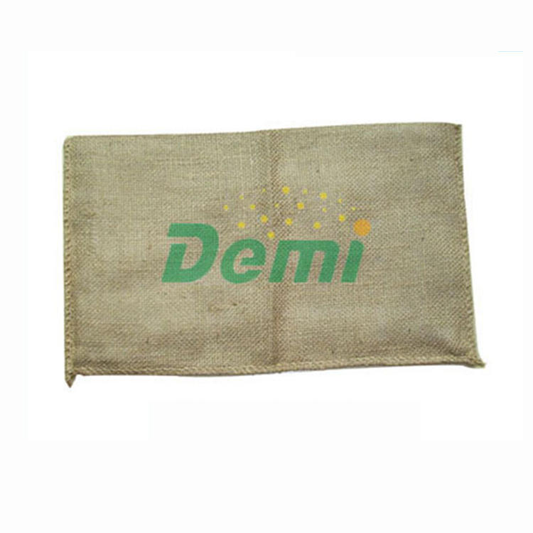 New high quality jute biodegradable sandbag