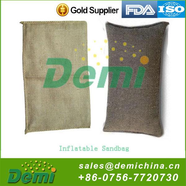 DEMI or OEM Wholesale Stable Flood Control Inflatable Sandbag, Sand Bag for Flooding