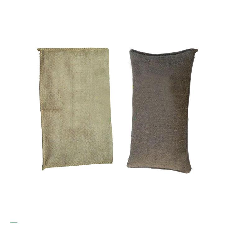 High quality jute sap bag control flood
