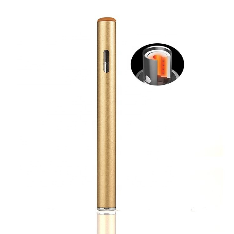 micro flat custom print golden honey bee rainbow king 1ml disposable vape pen