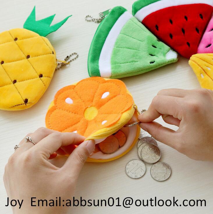 New design fruit coin purse / coin bag