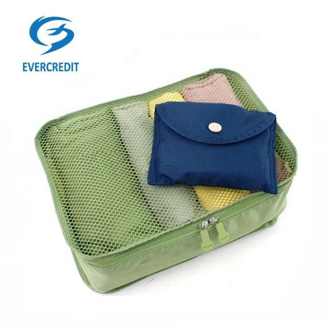 Hot Sale Storage Bag Foldable Travel Organizer Packing Cubes Set