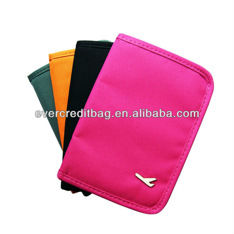 Passport Bag, Document Bag, Travel Multifunction Bag