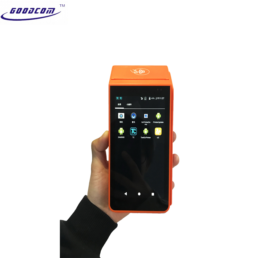 GT90 AndroidPOS Touch Screen Thermal Receipt Printer , Easy for developed withAPP. Free SDK offered.