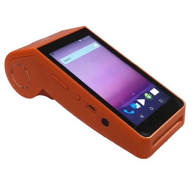 Touch Screen Payment Tablet Terminal 4G Handheld Mobile AndroidPOS with Printer