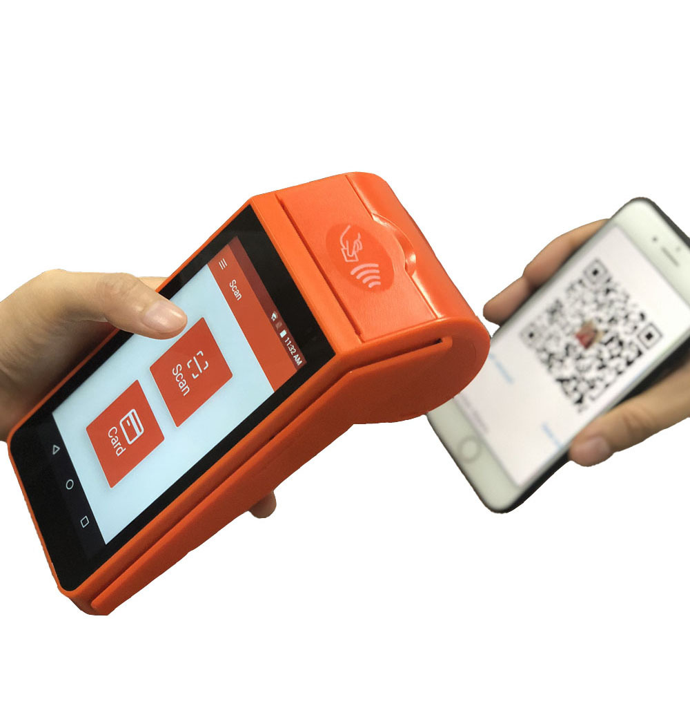 Free Airtime Vending Software Portable Android Pos All in One Touch Screen Pos Terminal