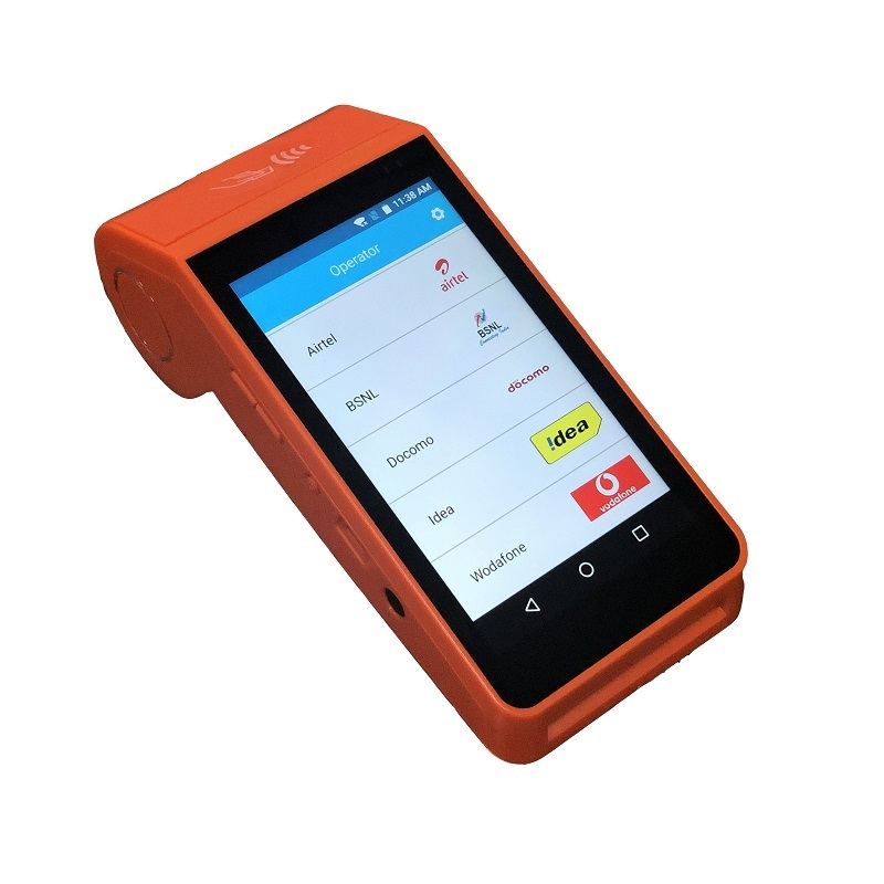 4G LTE Mobile Handheld NFC POS Systems Android for Bus Ticketing