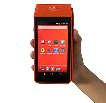 GOODCOM Free APP and SDK for Restaurant Food Online Ordering Handheld 4g Android Pos Terminal With Printer
