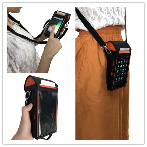 Portable NFC Airtime Top Up Terminal Android Pos Machine for Mobile Recharge