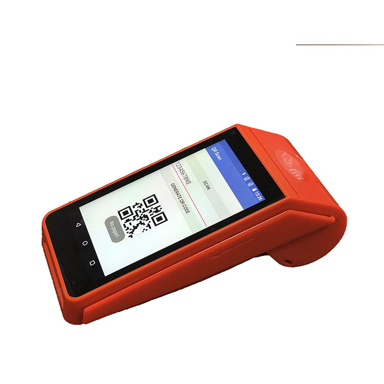 GOODCOM GT90 Wireless Android handheld Smart POS Terminal Thermal Printer with 1D/2D scanning