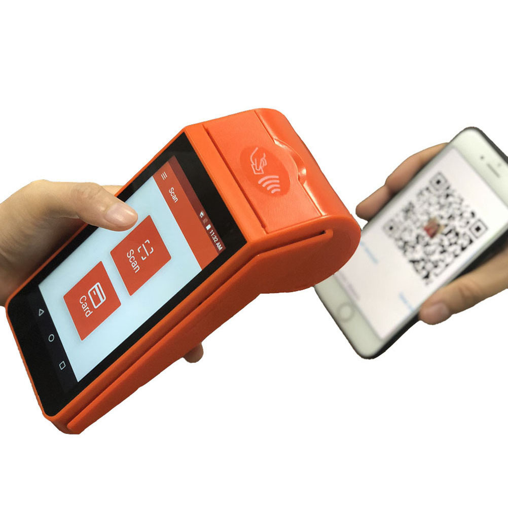 Cheap Customized KFC 4G Android Tablet POS with Thermal Receipt Printer