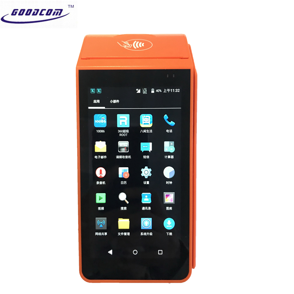 Smart Mobile Top-Up Handheld Android Pos Terminal /GPRS/3G/4G/Wifi/Blutooth