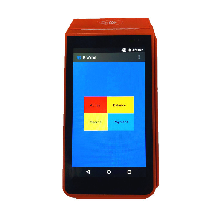 13% Off New Upgrade NFC Handheld Android Pos Terminal With Printer for Ewallet payment service