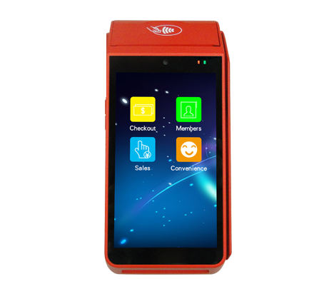 13% Off 58mm type 5inch Touch Screen Smart Android Tablet With Integrate Printer For Lottery Ticketing