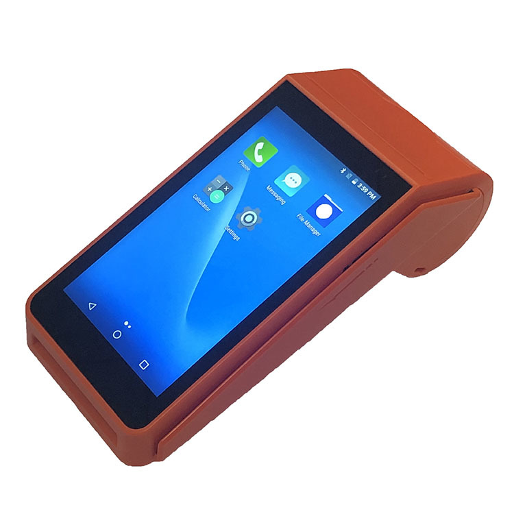 Android POS Terminal With Thermal Receipt Printer For Auto Print Email Orders