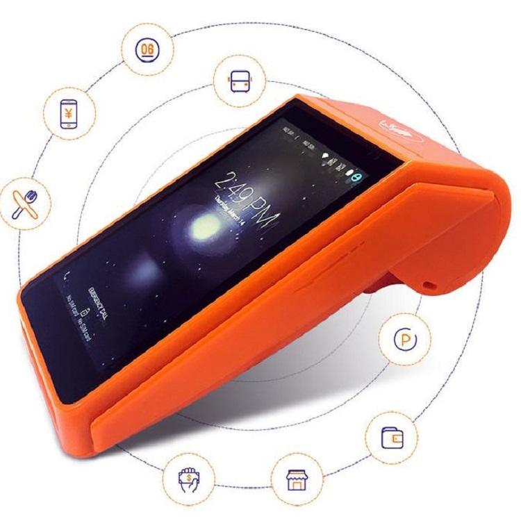 Goodcom Online Delivery Android Handheld Terminal POS with Thermal Printer