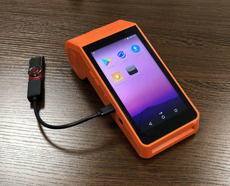 RFID Android POS Handheld Terminal for Loyalty Program System