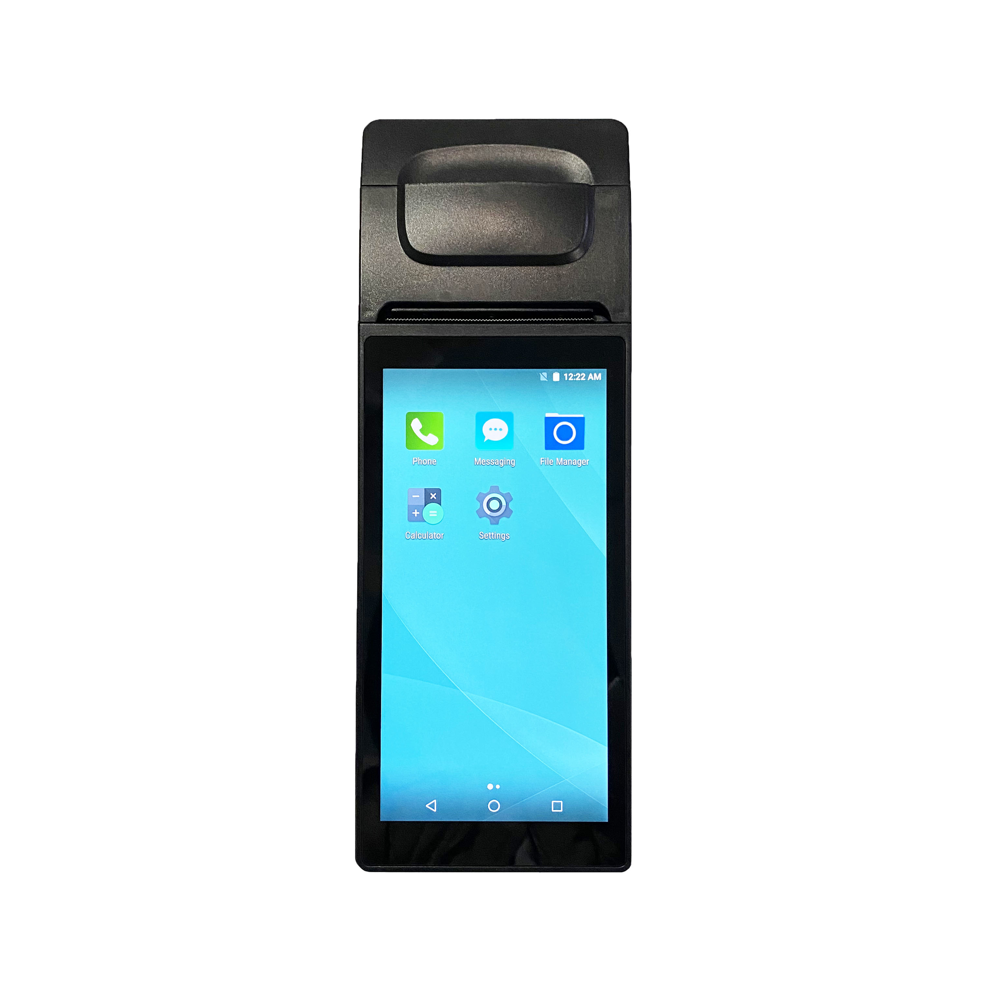 6 inch Touch Screen Contactless Online Ordering Handheld Android POS