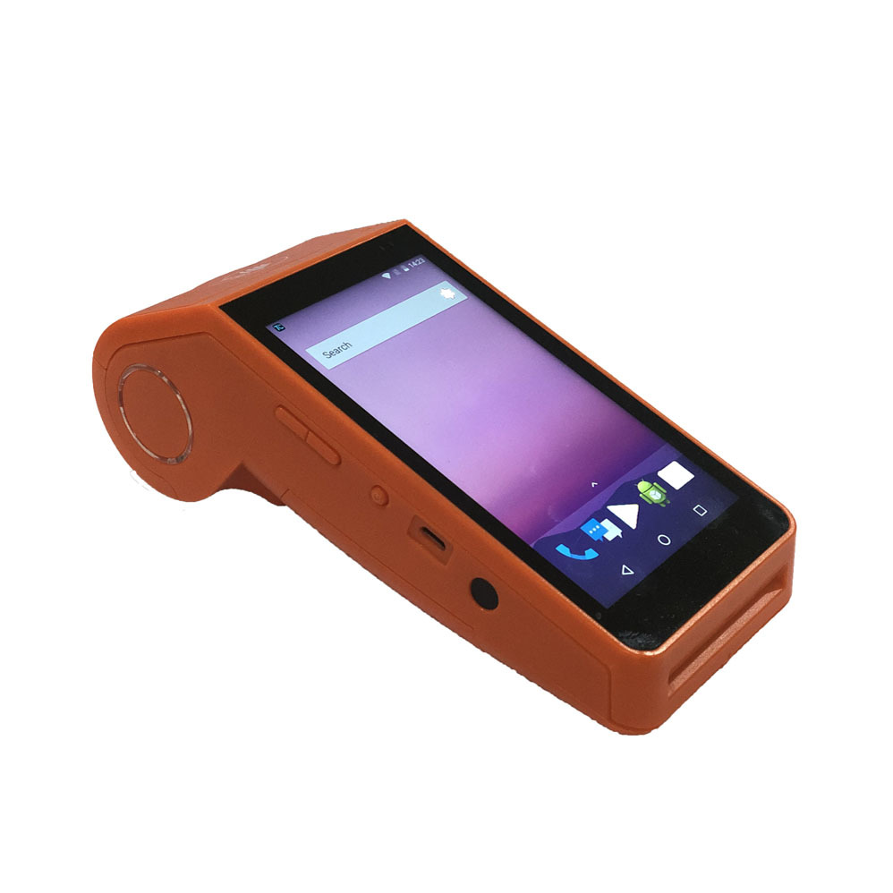 Handheld Android Smart Payment Terminal Car Parking Ticket Printer Pos Terminal