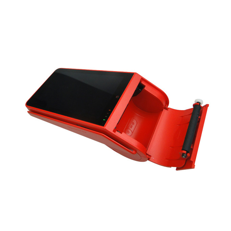 Handheld Touch Screen 4G GPRS Android POS Terminal with printer, Free SDK offered