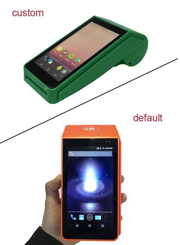 OEM ODM Accepted Wifi Portable Android POS Device with Printer for Lotto