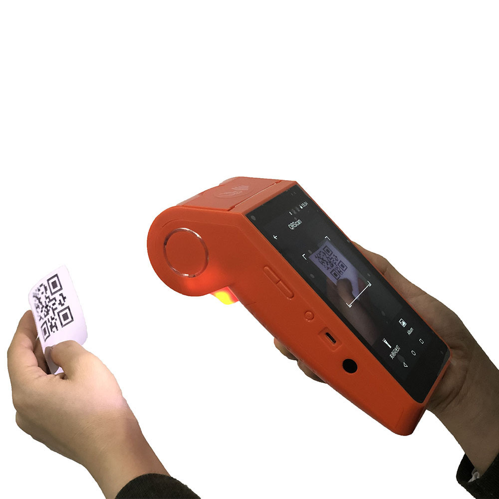 Camera Enable for Scanning Barcode QR Code Handheld Smart Android pos Printer