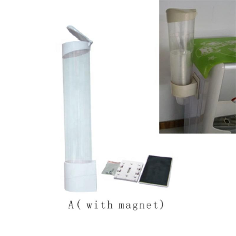 Cup Dispenser with Magnet for Plastic & Paper Cup