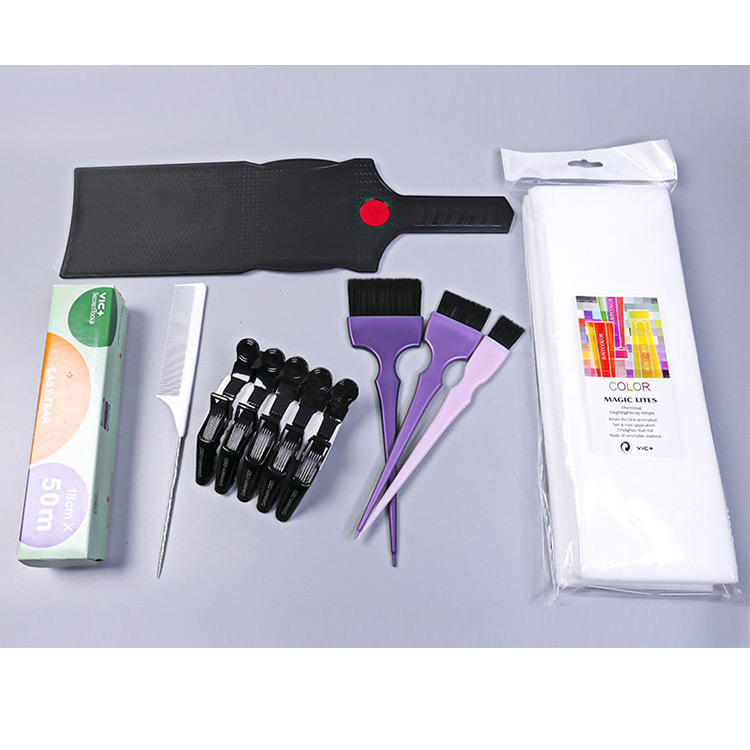 Hot Sale Perm Hair Coloring Dye Brushes Kit Color Tint Set