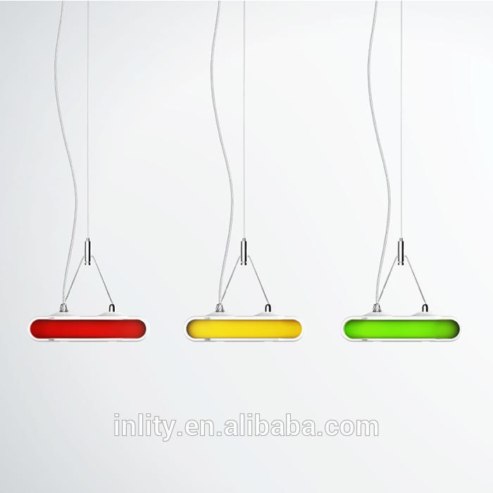 Inlity led pendants lights long Led Linear Light 36w 6000K Led Smart Batten Lamp For The Office