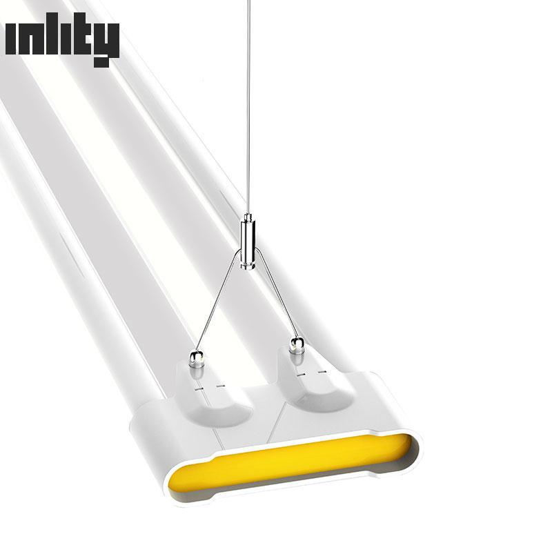 High Power Led Linear Light 48w Led Smart Batten Lamp For Office