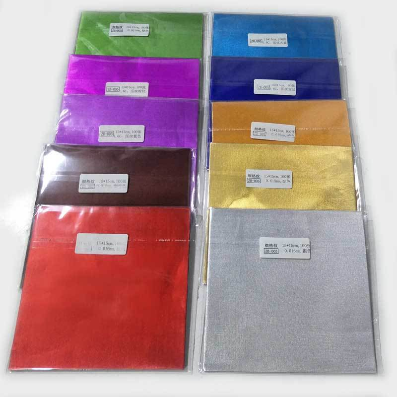 Hot Selling Fast Delivery colored aluminum foil for egg chocolate wrapping Wholesale in China