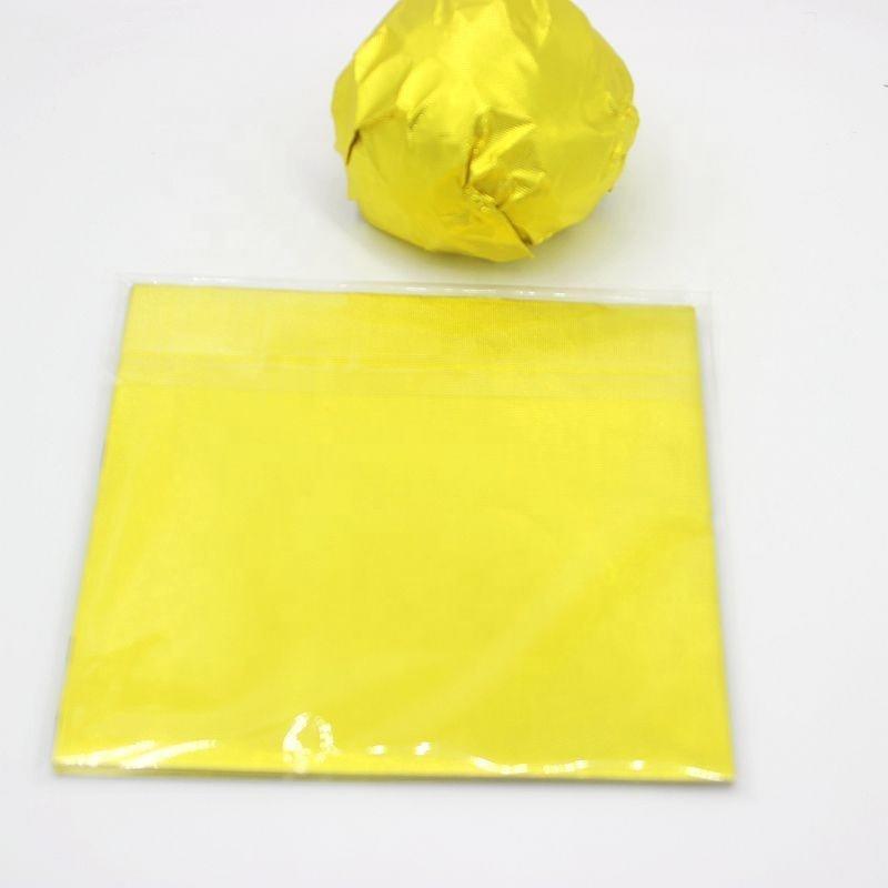 Wholesale factory chooclate wrap aluminum foil