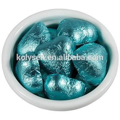 papier d aluminium pour emballage de chocolat