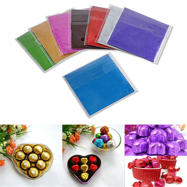 New Arrival Cheap Price Customized recycled colored aluminum chocolate foil Manufacturer from China