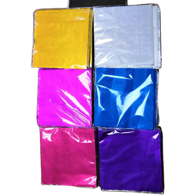 wax aluminum foil paper chocolate wrappers