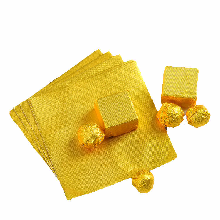 New Arrival Cheap Price Customized recycled aluminium foil for milk chocolate Manufacturer from China