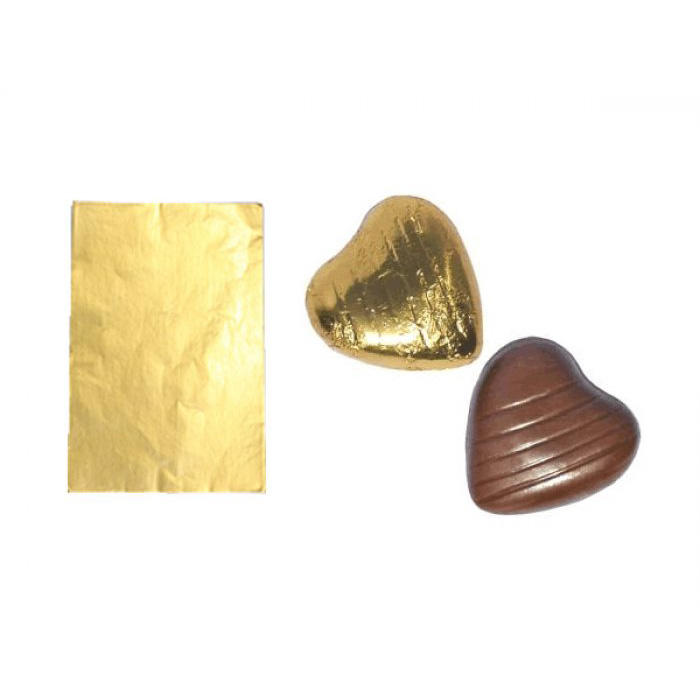 Christmas chocolate gift wrapping aluminum foil sheet