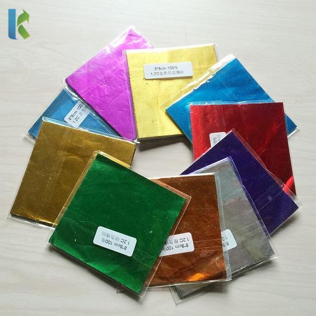 Factory Custom Chocolate Aluminum Foil Wrapper