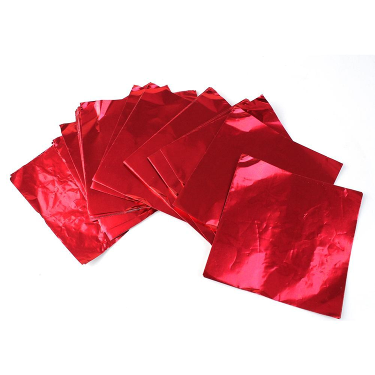 New Coming High Quality Custom Printed red aluminium foil for chocolates manufacturers Wholesale from China