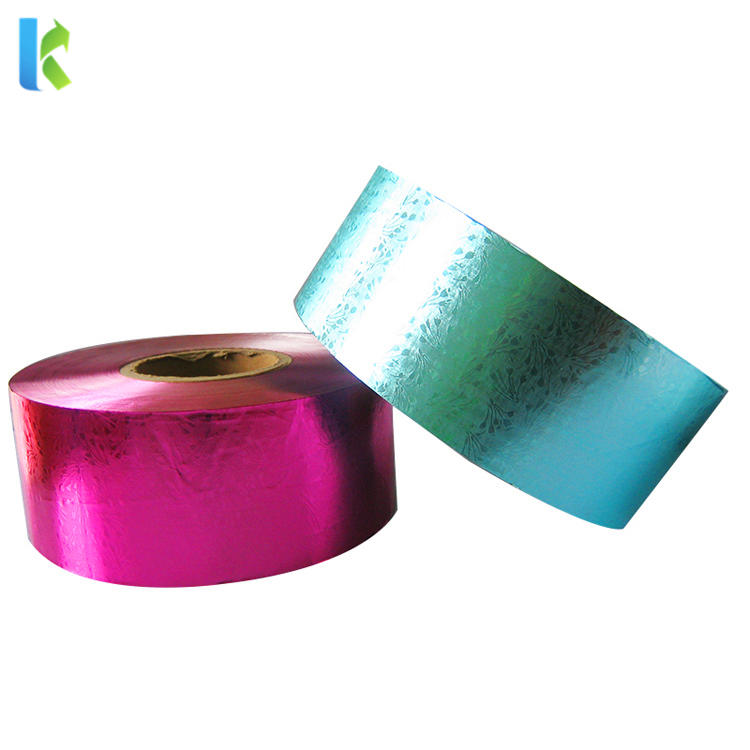 Wholesale Custom Confectionery Colored Square Chocolate Sweets Candy Package Paper Aluminum Foil Wrappers Sheets