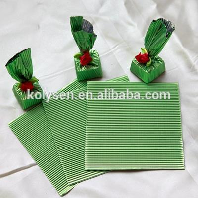 chocolate wrapper aluminum foil corrugated sheet