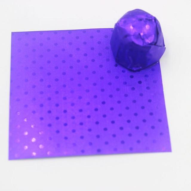 papier pour tablettes chocolat
