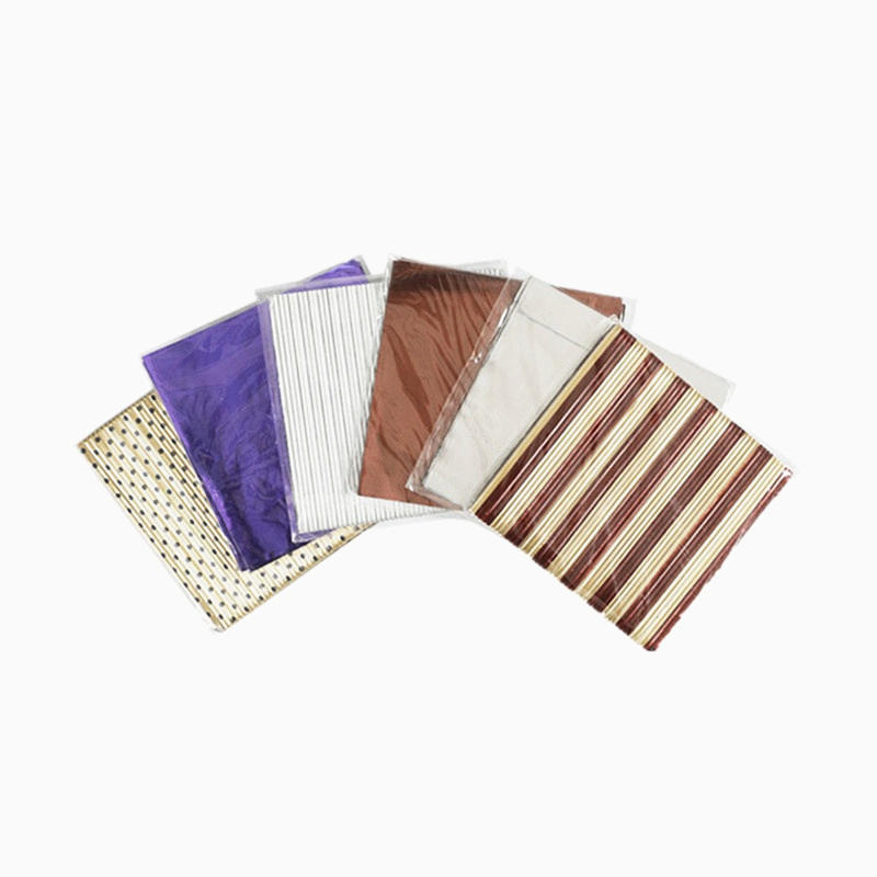 factory high quality colorful customizable corrugated aluminum foil for chocolate