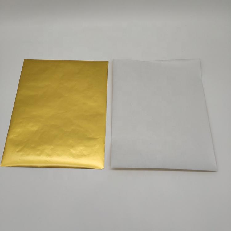 Food grade chocolate aluminum foil with paper on the back in china
