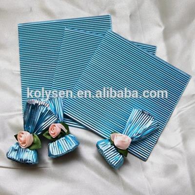chocolate wrapper aluminum foil corrugated sheet