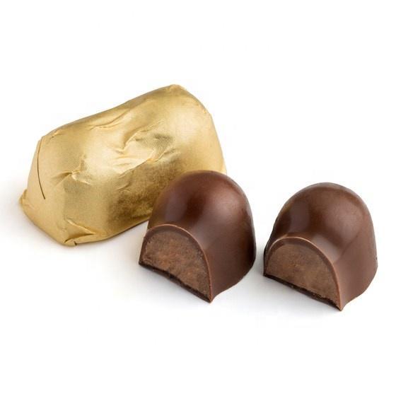 Customized food grade non toxic Bulk Christmas Chocolates wrapping aluminum foil Wholesale