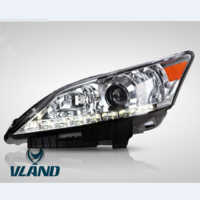 VLAND factory for car headlamp for ES350 head light 2010-2012 for ES350 LED headlight with moving turn signal