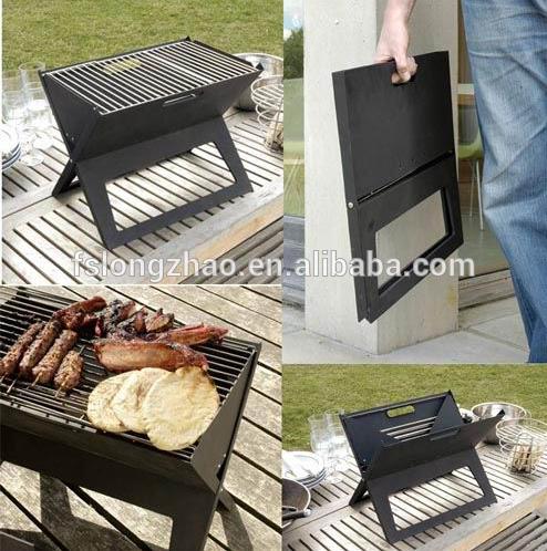 Foldable design mini charcoal bbq grills portable bbq grills