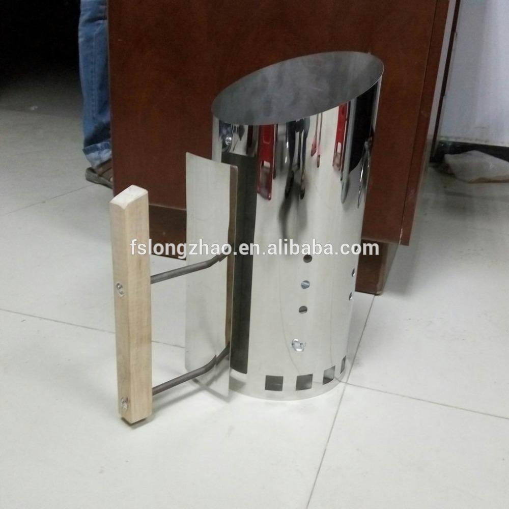 Protect from the high temperature Chimney starter with longer plate