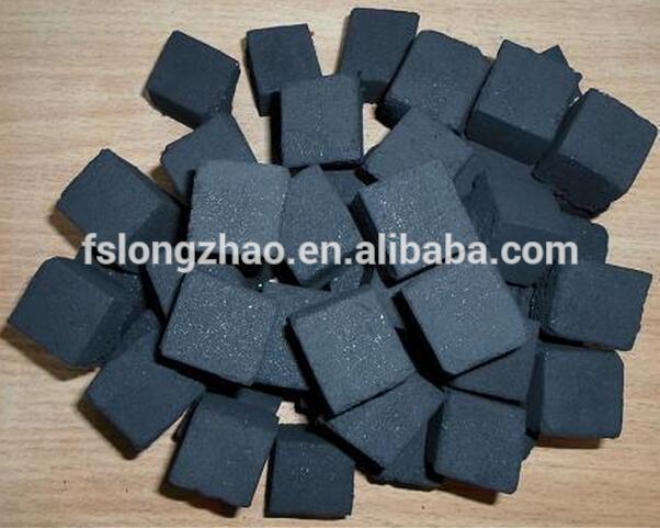 Shisha cube charcoal sawdust coconut shell charcoal briquette